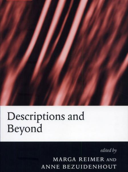 Descriptions and Beyond book cover