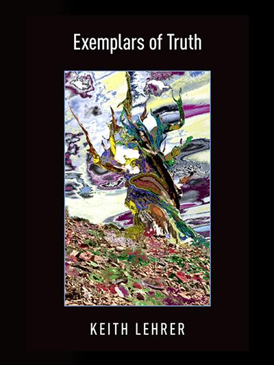 Examplars of the truth book cover with a prismatic, colorful tree painting