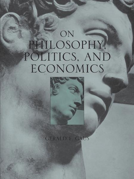 On Philosophy, Politics, and Economics book cover with statue of David as background image