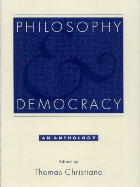 Philosophy and Democracy: An Anthology book cover