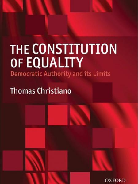 The Constitution of Equality  Democratic Authority and Its Limits book cover