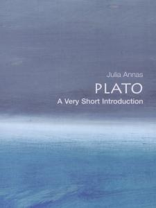 Plato: A Very Short Introduction book cover with a painting of ocean