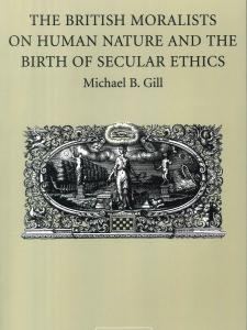 The British Moralists on Human Nature and the Birth of Secular Ethics book cover with a painting in the middle