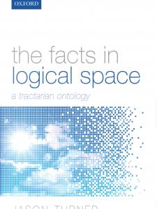 The Facts in Logical Space with digital art in the background