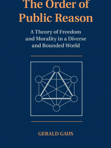 The Order of Public Reason  A Theory of Freedom and Morality in a Diverse book cover